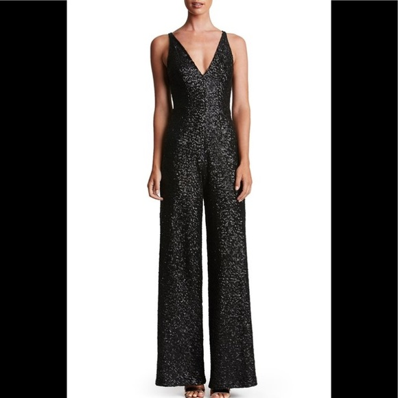 0ed83ded78f Dress the population Charlie Sequin Jumpsuit. Listing Price   140